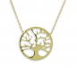 Preview: Collier Lebensbaum Echt Gold 333/000