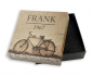 Preview: Frank 1967 Armband Achat / Granat 8mm breit