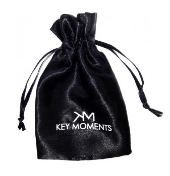 Key Moments Armspange Lack schwarz