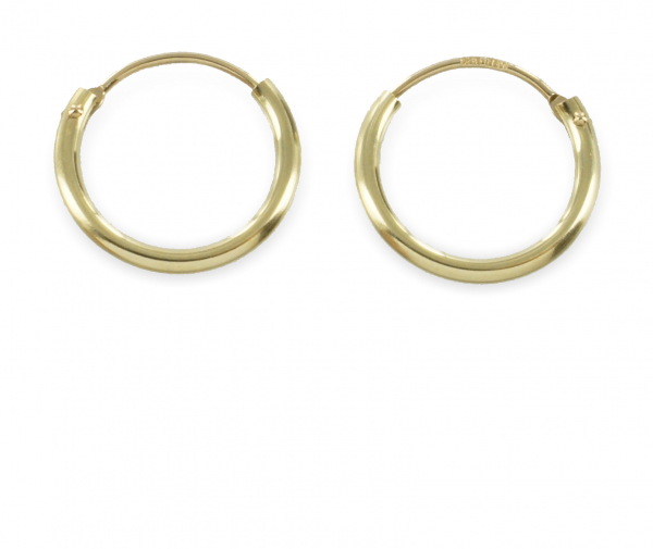 Creolen 13 mm - Gold 333/000