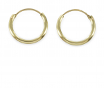 Creolen 13 mm - Gold 585/000